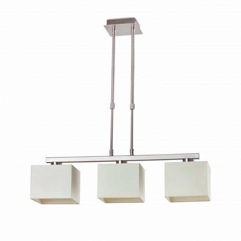 THANA Lampe suspension télescopique blanc