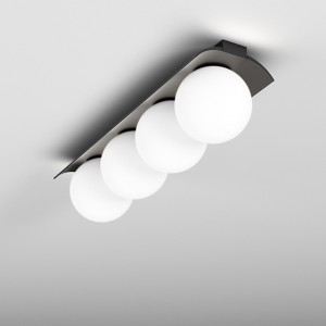 MODERN BALL WP x4 LED surface