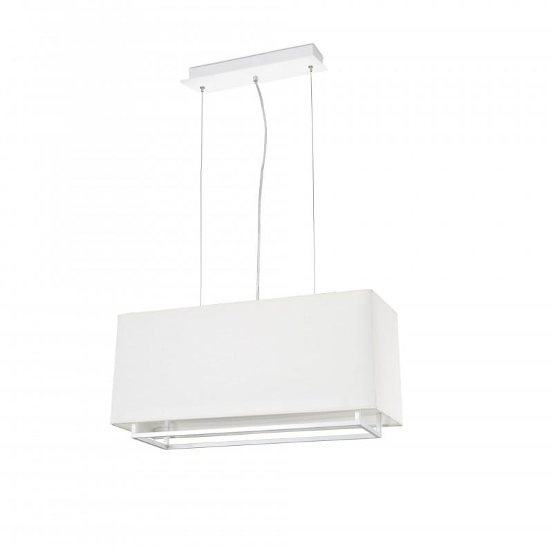 VESPER-1 Lampe suspension blanche