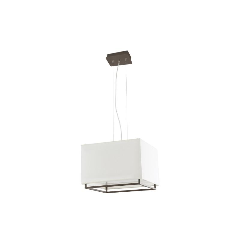 VESPER-2 Lampe suspension marron