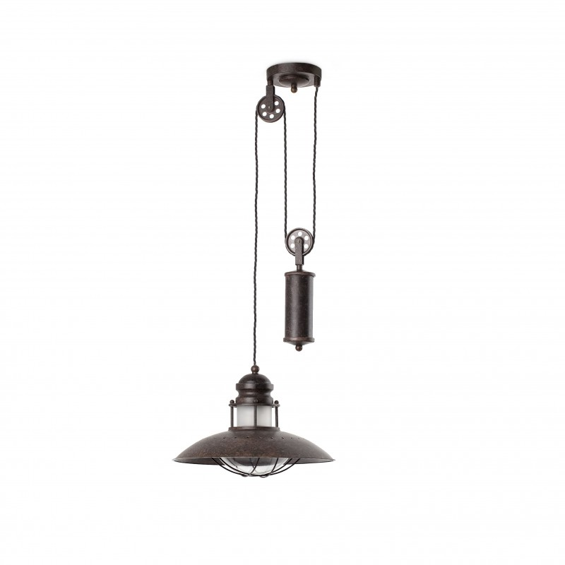 WINCH Lampe suspension marron (peso)