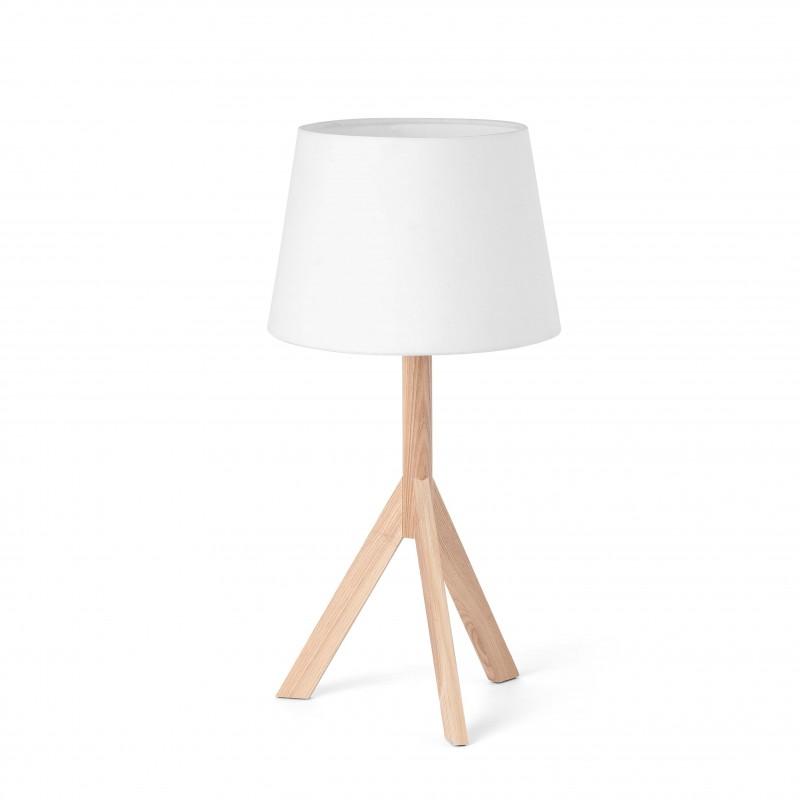 HAT Lampe de table blanche