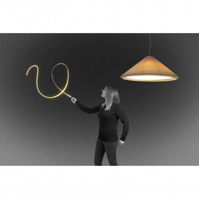 HUE IN Lampe suspension blanche cassé ø700