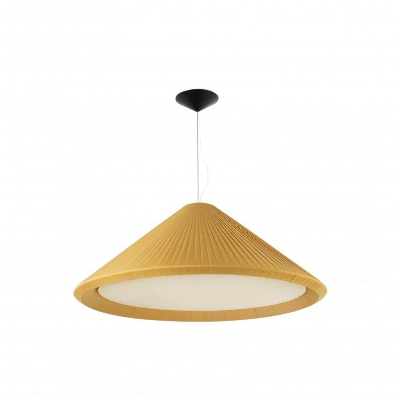 HUE IN Lampe suspension jaune doré ø1300