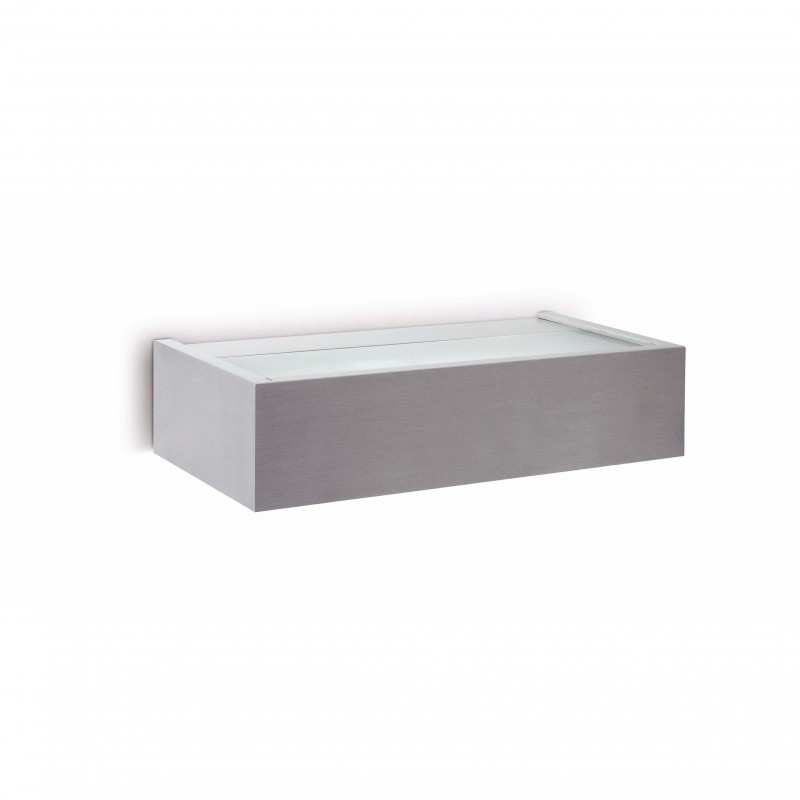 AMBO Lampe applique nickel mat