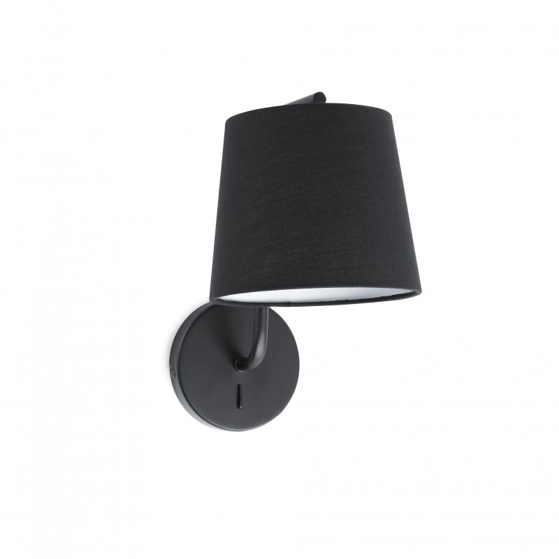 BERNI Lampe applique noire