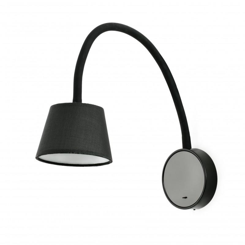 BLOME LED Lampe applique noire