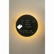 BOARD LED Lampe applique noir 12W