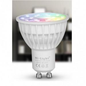 Ampoule LED  GU10-4w-couleur et blanc dynamique MILIGHT