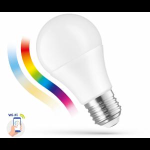 Ampoule LED A60 9w E27 230v RGBW + CCT DIM smart wi-fi