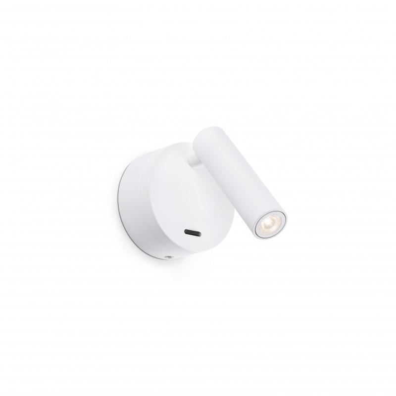 BOC LED Applique lecteur blanc