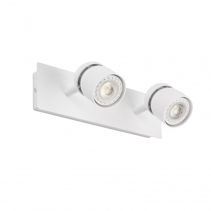 COCO Lampe applique blanc 2L