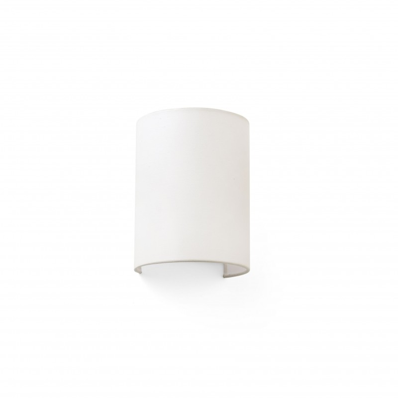 COTTON Lampe applique beige ronde