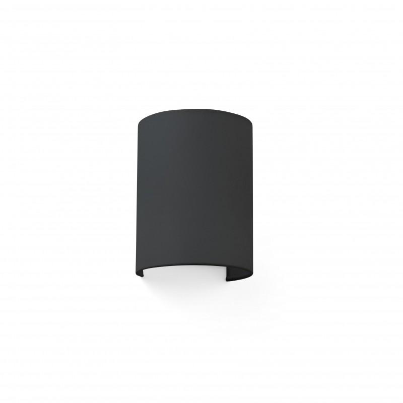 COTTON Lampe applique noir ronde