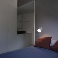 FLASH LED Lampe applique blanche 1L