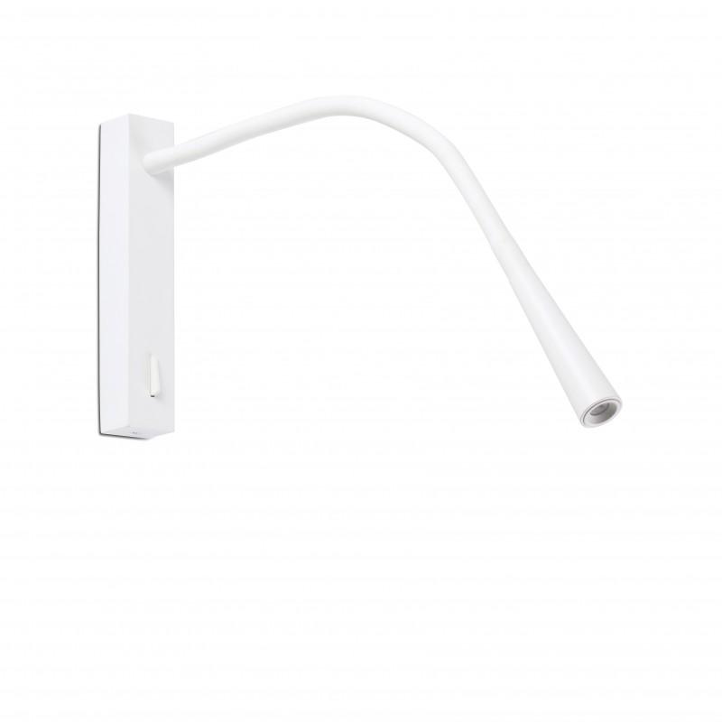 FLIN LED Lampe applique lecteur blanc
