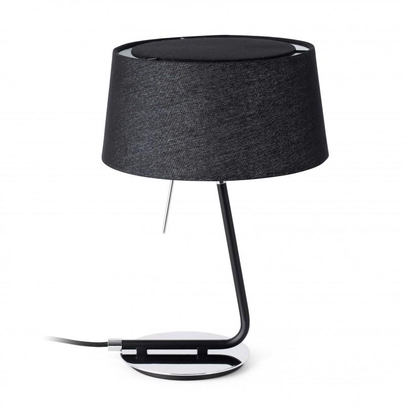 HOTEL Lampe de table noir 1L
