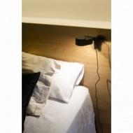 INVITING LED Lampe applique noire