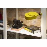 INVITING LED Lampe avec pince jaune