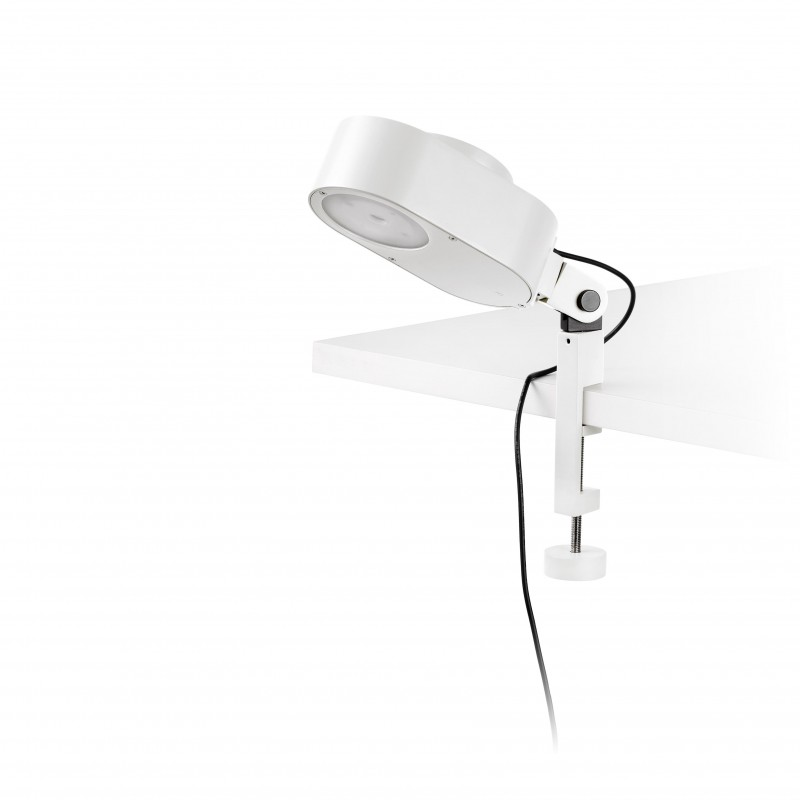 INVITING LED Lampe avec pince blanche