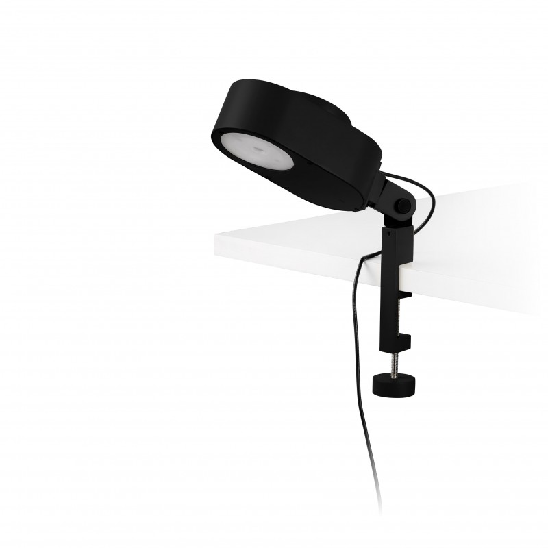 INVITING LED Lampe avec pince noire