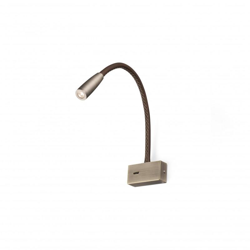 LEAD Applique lecteur bronze