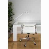 INVITING LED Lampe de table grise