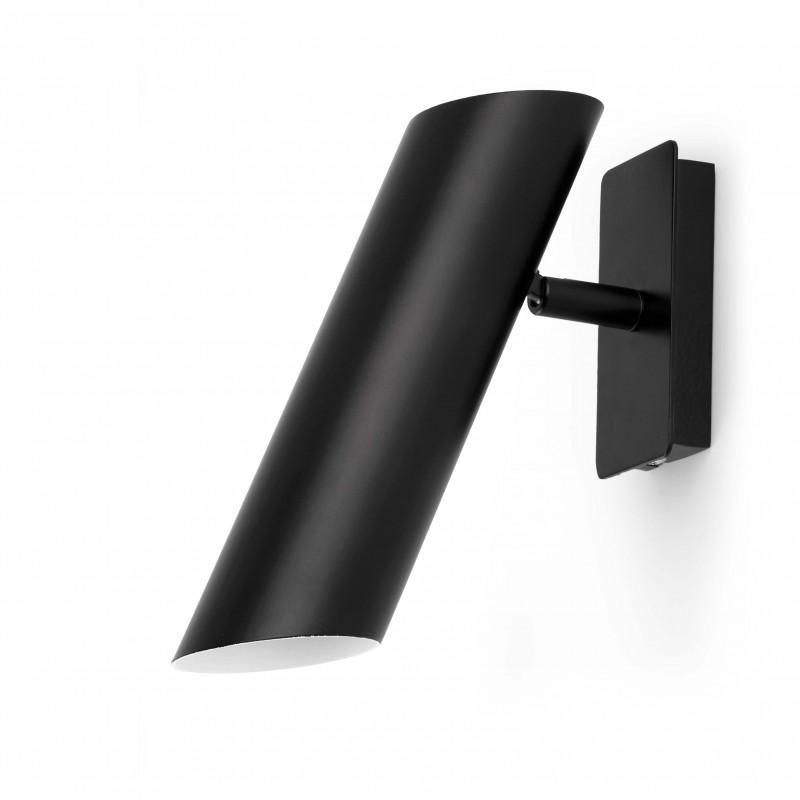 LINK Lampe applique noir 1L