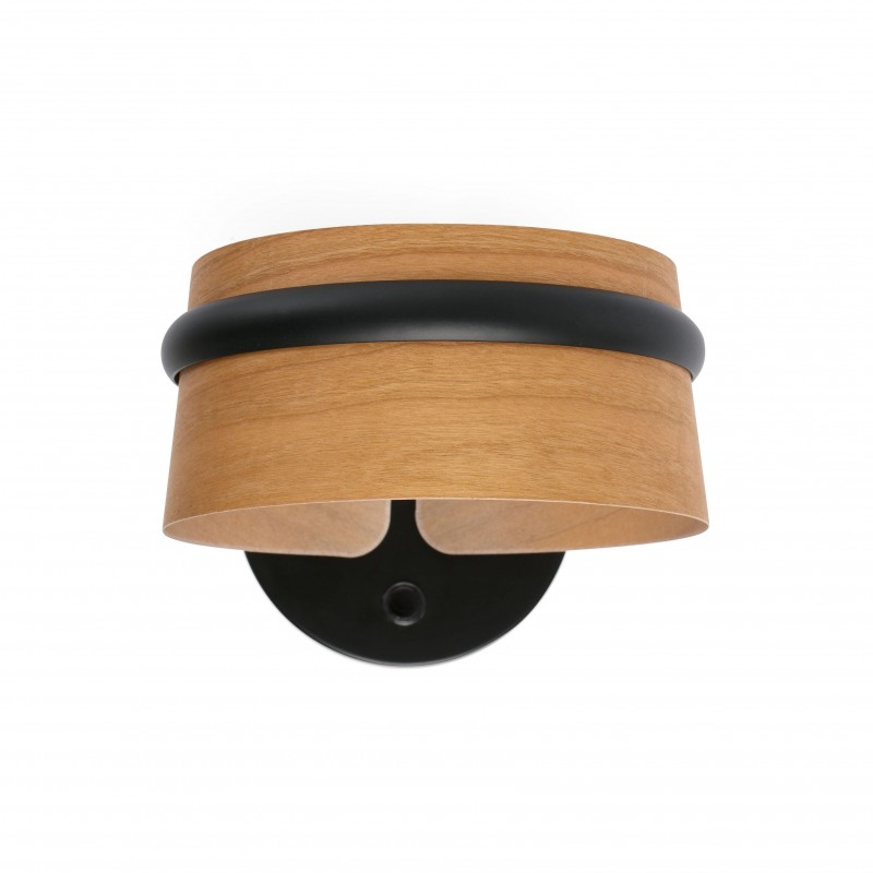 LOOP LED Lampe applique noire