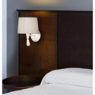 MAMBO Lampe applique blanche avec lecteur LED