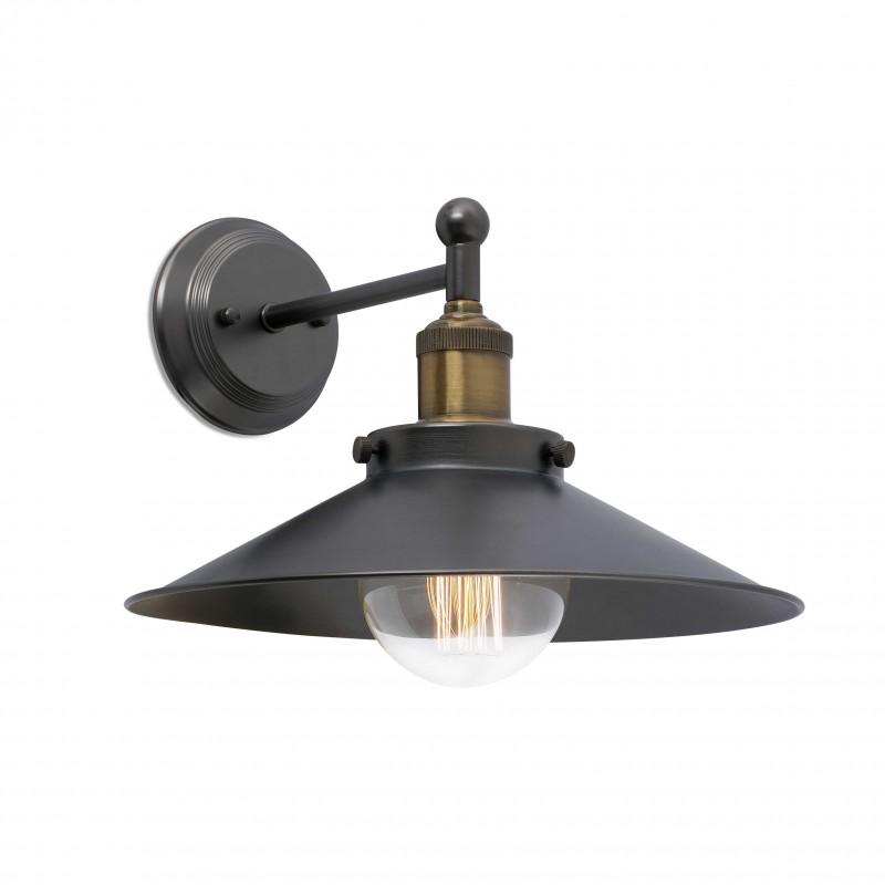 MARLIN Lampe applique noire