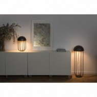 JELLYFISH LED Lampe de table noir et or