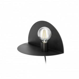 NIT Lampe applique noire
