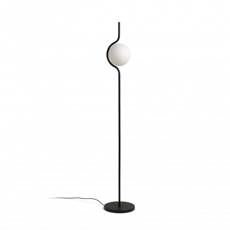 LE VITA LED Lampadaire dimmable noir