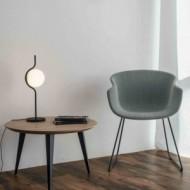 LE VITA LED Lampe de table dimmable noir