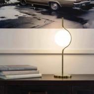 LE VITA LED Lampe de table dimmable or
