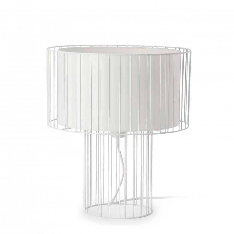 LINDA Lampe de table blanc