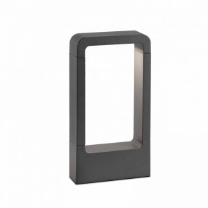 DAS LED Lampe balise gris foncé h 30cm