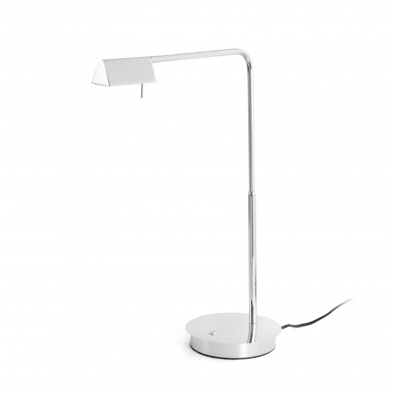 ACADEMY LED Lampe de table chrome