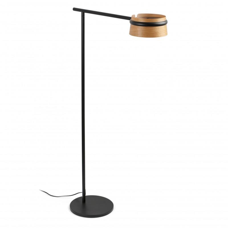 LOOP LED Lampadaire noir