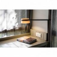 LOOP LED Lampe de table noire avec pince