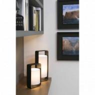 LULA-P Lampe de table blanche et noir