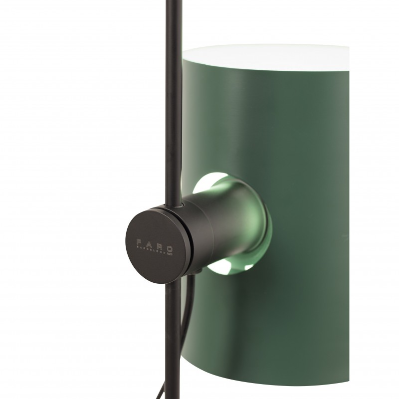LUPE Structure lampadaire noir
