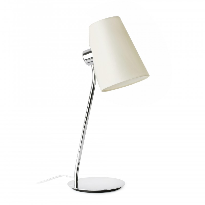 LUPE Lampe de table chrome