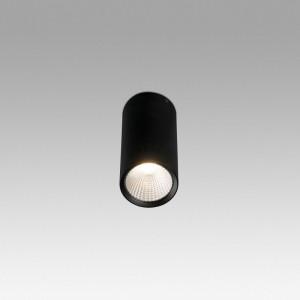 REL-P LED Plafonnier noir