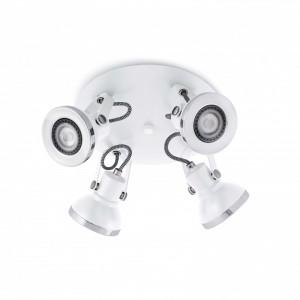 RING Plafonnier blanc 4L