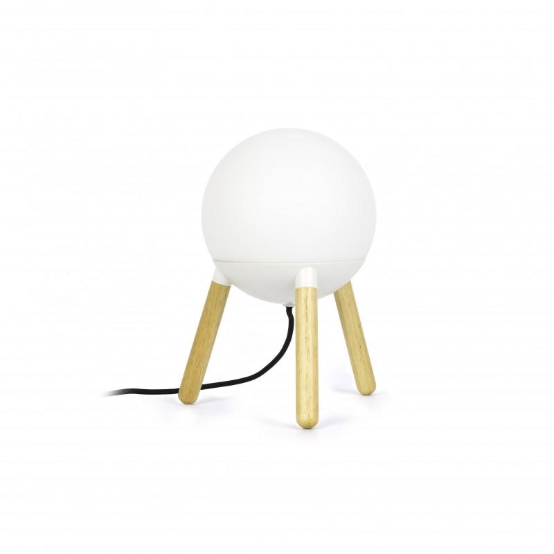 MINE Lampe de table blanche PC