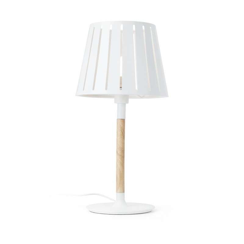 MIX Lampe de table blanc