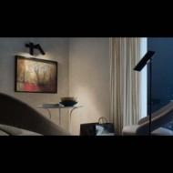 LINK Lampe applique noir 2L