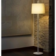MONTREAL Structure lampadaire blanc